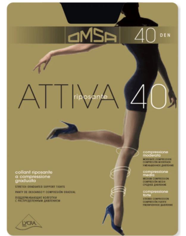 Omsa pėdkelnės Attiva 40 DEN