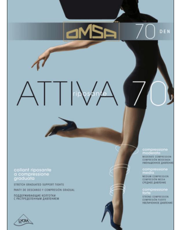 Omsa pėdkelnės Attiva 70 DEN