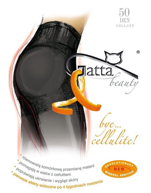 Gatta pėdkelnės Bye Cellulite 50 den