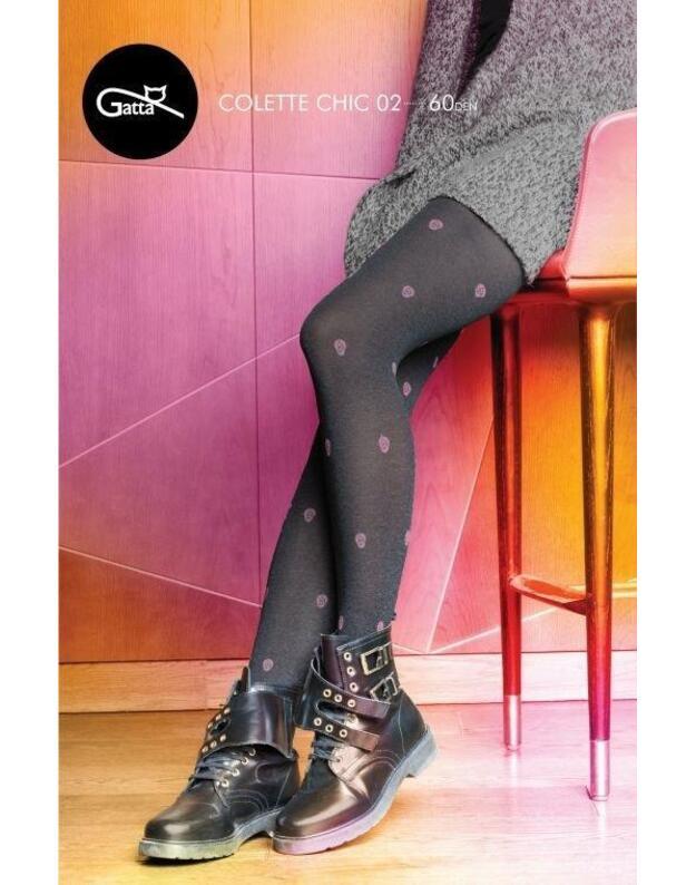 Gatta pėdkelnės Colette Chic 02 60 den